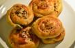 ISPANAKLI PEYNİRLİ GÜL BÖREĞİ (okrągłe bułki ze szpinakiem i serem)